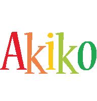 Akiko birthday logo