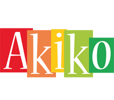 Akiko colors logo