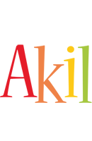 Akil birthday logo