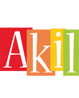 Akil colors logo