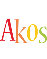 Akos birthday logo