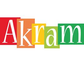 Akram colors logo