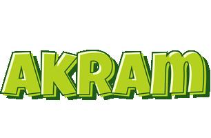 Akram summer logo