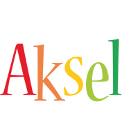 Aksel birthday logo