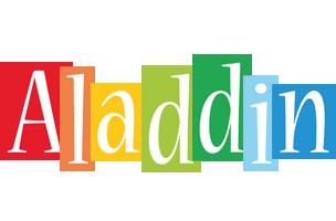 Aladdin colors logo