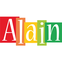 Alain colors logo