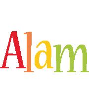 Alam birthday logo
