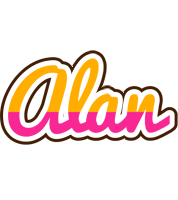Alan smoothie logo