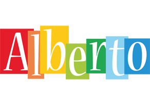 Alberto colors logo