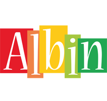 Albin colors logo
