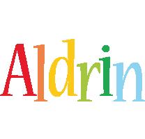Aldrin birthday logo