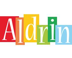Aldrin colors logo