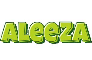 Aleeza summer logo