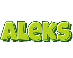 Aleks summer logo