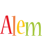 Alem birthday logo
