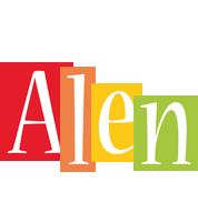 Alen colors logo