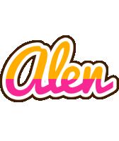 Alen smoothie logo