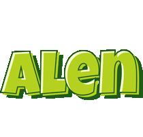Alen summer logo