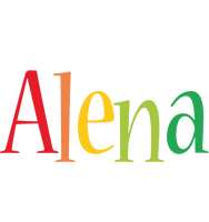 Alena birthday logo