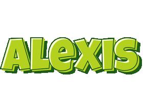 Alexis summer logo