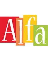 Alfa colors logo