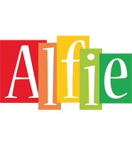 Alfie colors logo
