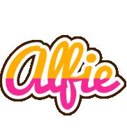 Alfie smoothie logo
