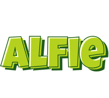 Alfie summer logo