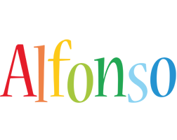 Alfonso birthday logo