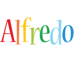Alfredo birthday logo