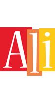 Ali colors logo