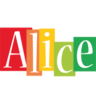 Alice colors logo