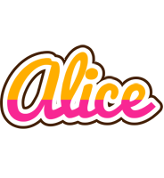 Alice smoothie logo