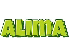 Alima summer logo