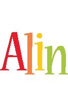 Alin birthday logo