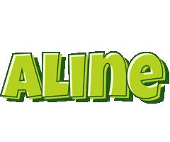 Aline summer logo