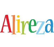 Alireza birthday logo