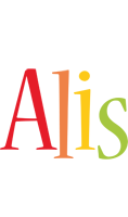 Alis birthday logo