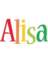 Alisa birthday logo