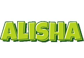 Alisha summer logo