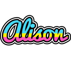 Alison circus logo