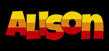 Alison jungle logo