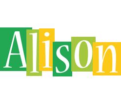 Alison lemonade logo