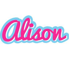 Alison popstar logo