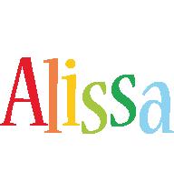Alissa birthday logo