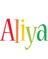 Aliya birthday logo