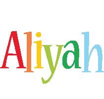 Aliyah birthday logo