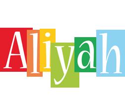 Aliyah colors logo