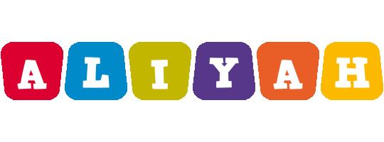 Aliyah kiddo logo
