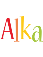 Alka birthday logo